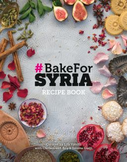GEMMA BELL AND COMPANY BakeForSyria cookbook news image